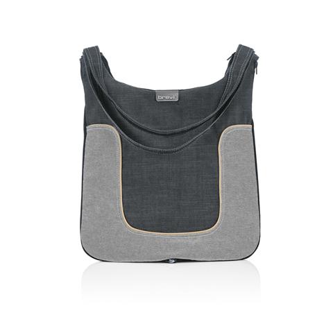 Accessori per carrozzine - Borsa fasciatoio Millestrade 002 Fashion Jeans by Brevi