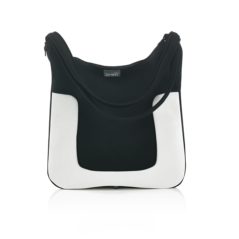 Accessori per carrozzine - Borsa fasciatoio Millestrade 035 Black & White by Brevi