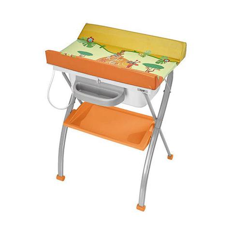 Bagnetti fasciatoio - Bagnetto fasciatoio Lindo 557 Safari Kids by Brevi