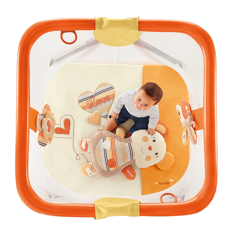 Box per bambini da 0 m+ Brevi Soft & Play - Love Natural ...