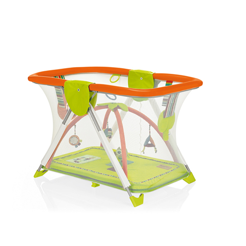 Box - Soft & Play - Best Friends 518 Verde-arancio by Brevi
