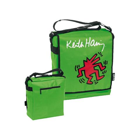 Accessori per carrozzine - Borsa fasciatoio - Keith Haring 027 Green by Brevi