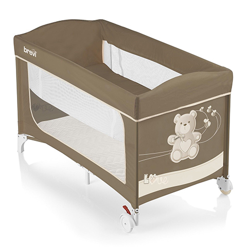 Lettini da viaggio - Dolce Nanna Plus - My Little Bear 553 My Little Bear by Brevi