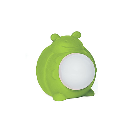 Accessori per il viaggio del bambino - Luce notturna a LED ricaricabile Lucilla 347 Coccinella verde by Brevi