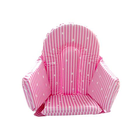 Accessori per la pappa - Riduttore seggiolone 055 stripes bianco-rosa by Brevi