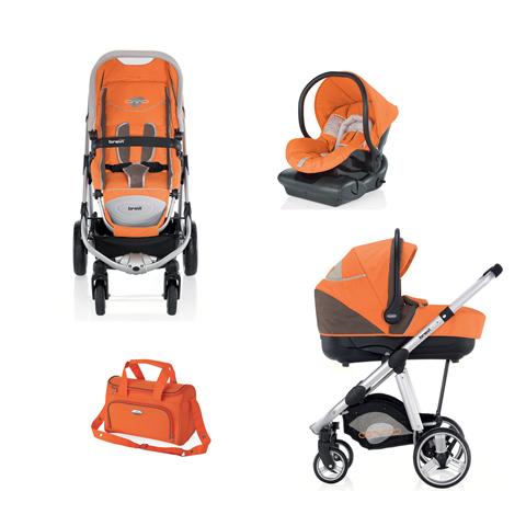 Sistema modulare trio ovo car brevi 049 arancio melone for Passeggino trio ebay