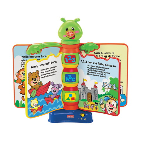 Giocattoli 6+ mesi - Il bruco cantastorie N0224 by Fisher Price