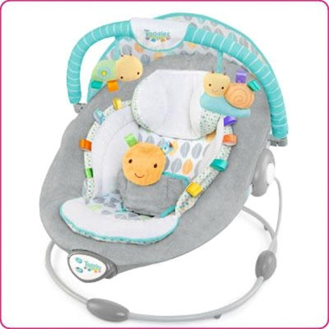 Bright Starts Sdraietta Bouncer Taggies Soft n Snug