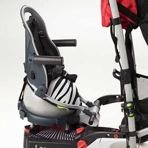 Accessori per il passeggino - Buggypod Perle completo di adattatore Zebra [10000010+20000015] by Buggypod