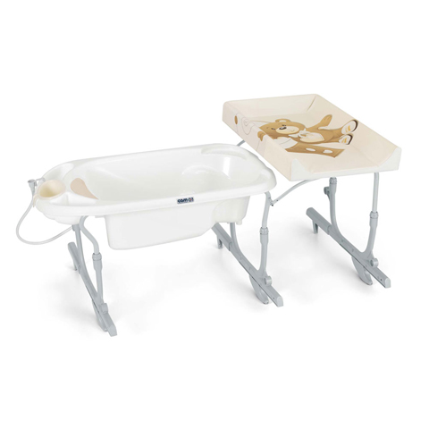 Bagnetti fasciatoio - Bagnetto fasciatoio Idro Baby estraibile T219 - ORSO by Cam