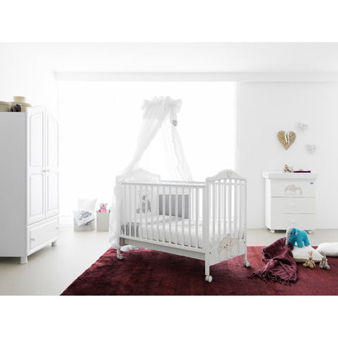 Camerette complete - Little Baby Bianco by Pali