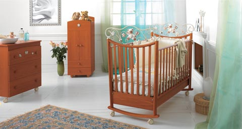 Camerette complete - Cameretta Perla Cherry by Baby Expert