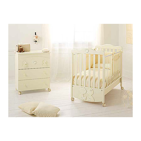 Offerte in corso - Set lettino Primo Amore + cass.fasc. Primo Amore panna by Baby Expert
