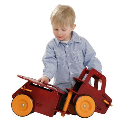 Giocattoli 9+ mesi - Camioncino cavalcabile smontabile Rosso by Moover
