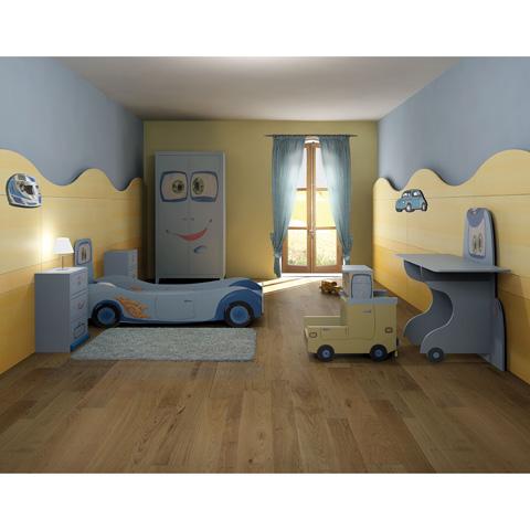 Tre stelle camerette camerette eleganti per bambini idee - Letto bimbo cars ...