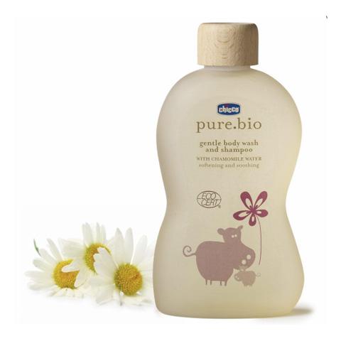 Prodotti igiene personale - Bagno delicato corpo e capelli pure.bio 1258 by Chicco