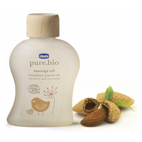 Prodotti igiene personale - Olio massaggio pure.bio 1260 by Chicco