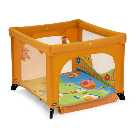baby laufgitter kinder laufstall laufgitter chicco open country orange ebay. Black Bedroom Furniture Sets. Home Design Ideas