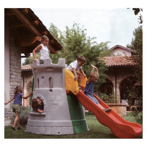 Kinderspielhaus gartenhaus palestra castello 30001 chicco ebay - Chicco gartenhaus ...