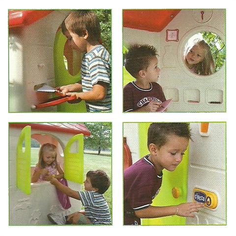 Casetta nel bosco chicco 30102 gioco bambini cameretta for Casetta chicco prezzi