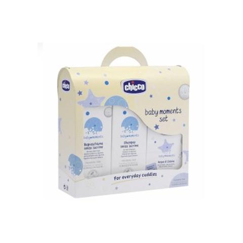 Abbigliamento e idee regalo - Cofanetto Baby Moments - Set Bagno-shampoo 3206 by Chicco
