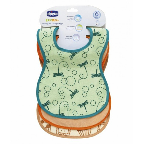 Bavaglini - Bavaglino in cotone Easy Meal 32381 by Chicco