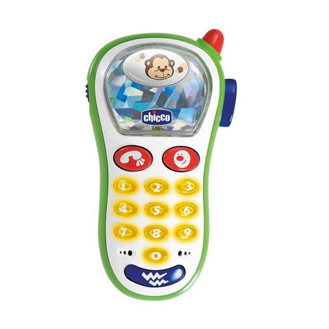 Giocattoli 6+ mesi - Telefonino vibra e scatta PNT 60067 by Chicco