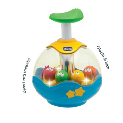 Giocattoli 6+ mesi - Trottola Aquarium 70074 by Chicco