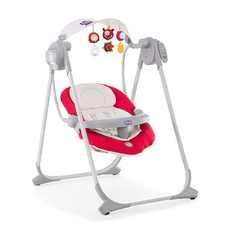 Altalene e dondolini - Altalena Polly Swing Up 71 Paprika by Chicco