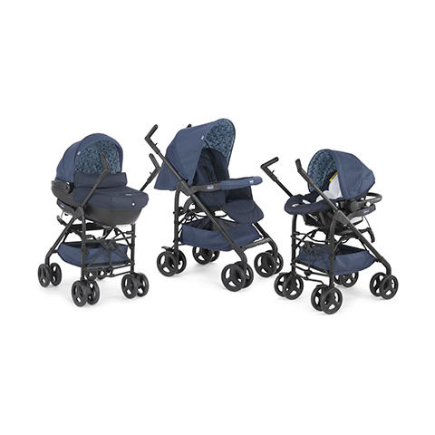 Modulari (DUO e TRIO) - [TRIO] Sprint 46 Midnight by Chicco