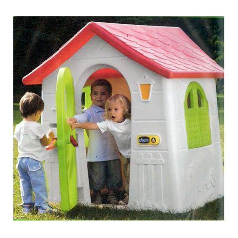 Kinderhaus gartenhaus kinderspielhaus casetta nel bosco 30102 chicco ebay - Chicco gartenhaus ...