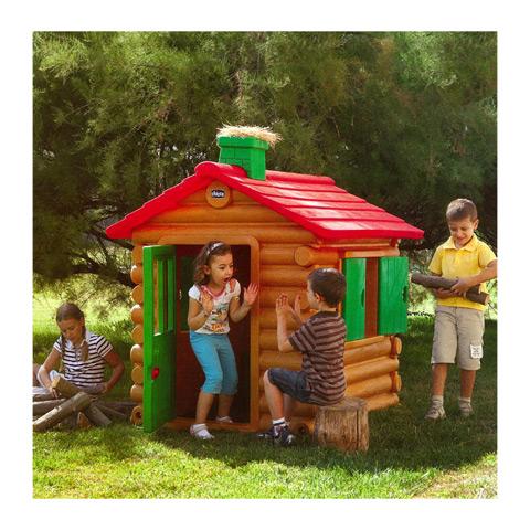 Casetta giocattolo chalet chicco 30101 in plastica da for Casetta giardino chicco
