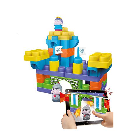 Giocattoli 12+ mesi - Costruzioni set 70 pezzi Castello 68120 by Chicco