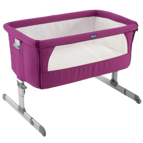 Culle complete - Culla  Co-sleeping Next2Me 68 Fuchsia by Chicco
