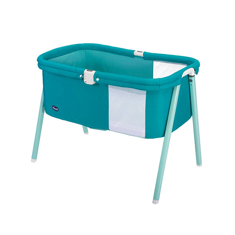 Culle complete - Culla LullaGo 92 Green Jam by Chicco