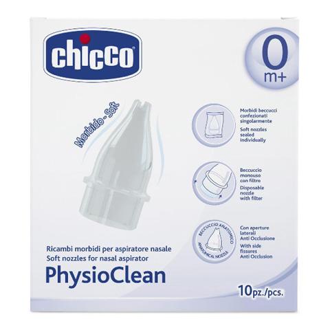 Sanitaria - Ricambi morbidi per aspiratore nasale Physioclean 4982 by Chicco