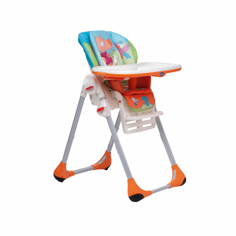 Seggioloni - Seggiolone Polly 2 in 1 33 Wood Friends by Chicco