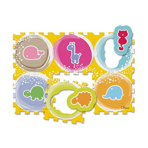 Giocattoli 36+ mesi - Tappeto componibile 6 pezzi Puzzle Animali 71620 by Chicco
