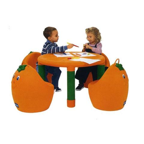 Tavolo arancia chicco 30007 tavolino cameretta bambini ebay for Tavolino per bambino