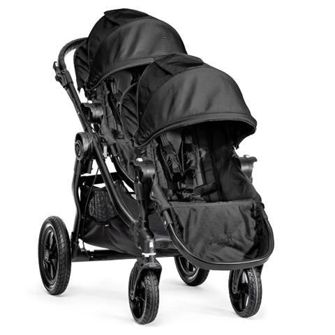 Linea gemellare - City Select gemellare [2 sedute] Charcoal/Denim by Baby Jogger