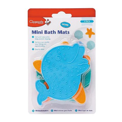 Accessori per l'igiene del bambino - Mini tappetini antiscivolo Mod. 37 by Clippasafe