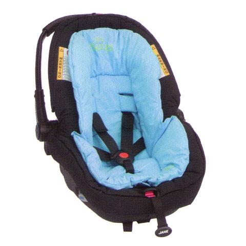 Accessori per il viaggio del bambino - Rivestimento a cappuccio per seggiolino auto gruppo 0+ H73 Turquoise [80217] by Jane