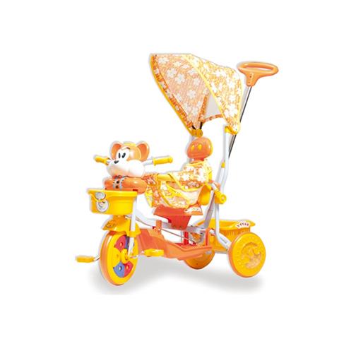 Giocattoli 36+ mesi - Triciclo Orsetto Arancio by Colibrì