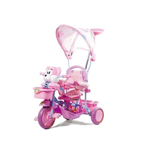 Giocattoli 36+ mesi - Triciclo Orsetto Rosa by Colibrì
