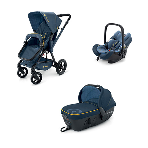 Modulari (DUO e TRIO) - [TRIO] Wanderer + Air.Safe + Sleeper 2.0 DENIM BLUE by Concord