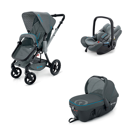 Modulari (DUO e TRIO) - [TRIO] Wanderer + Air.Safe + Sleeper 2.0 STONE GREY by Concord