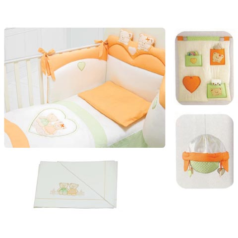 Coordinati tessili - Coordinato tessile Cuore Coordinato tessile Cuore by Baby Expert