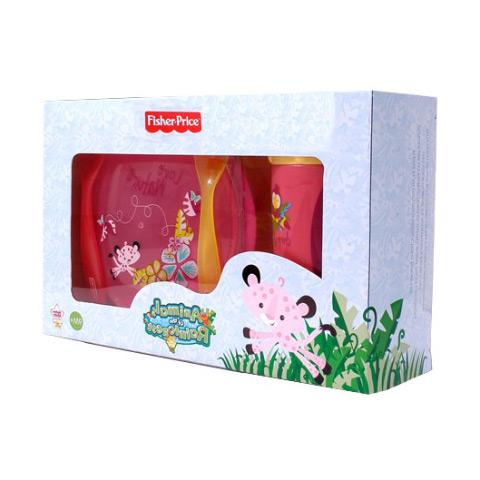 Stoviglie decorate - Set svezzamento - Fisher Price 5990 girl by Unifamily