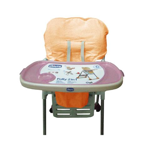 Accessori per la pappa - Copriseggiolone in spugna per Polly Chicco BC132.04 - arancio by Babys Clan