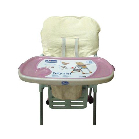 Accessori per la pappa - Copriseggiolone in spugna per Polly Chicco BC132.07 - beige by Babys Clan